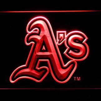 Oakland Athletics A's Logo neon sign LED