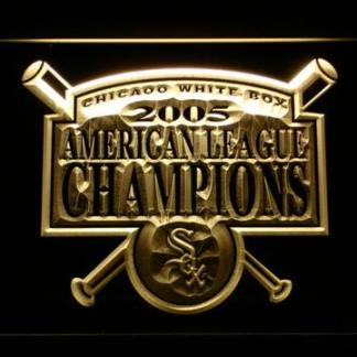 Chicago White Sox 2005 Champion Logo A - Legacy Edition neon sign LED