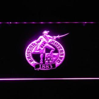 Bristol Rovers F.C. neon sign LED