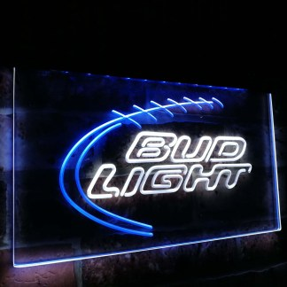 Bud Light Sport Beer Club Bar Decoration Gift Dual Color Led Neon Sign neon sign LED