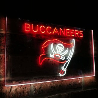 Tampa Bay Buccaneers Football Bar Decor Dual Color Led Neon Sign neon sign LED