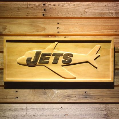 New York Jets 1963 Wood Sign - Legacy Edition neon sign LED