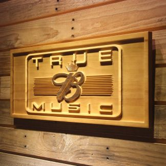 Budweiser True Music Wood Sign neon sign LED