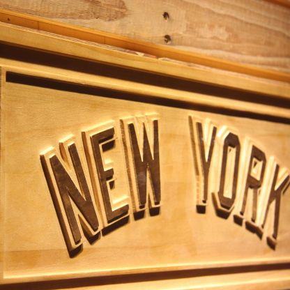 New York Yankees 5 Wood Sign neon sign LED