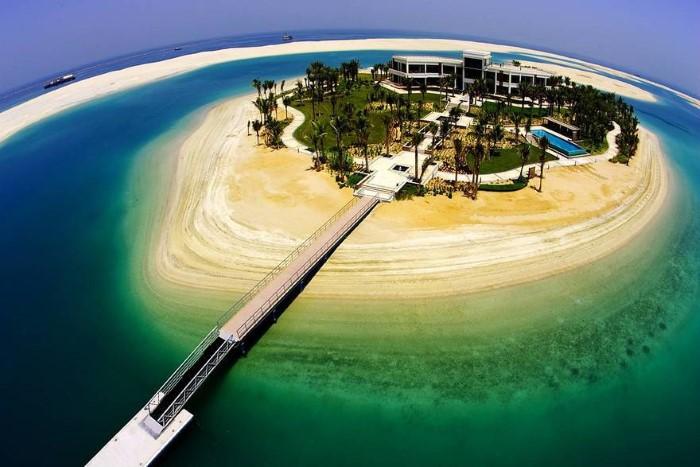 اكبر جزيرة صناعية في العالم جزيرة النخلة بدبى كيف