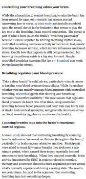 https://www.forbes.com/sites/daviddisalvo/2017/11/29/how-breathing-calms-your-brain-and-other-science-based-benefits-of-controlled-breathing/