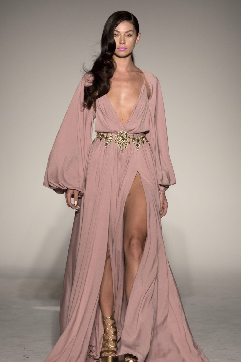 NYFW ♡ A Feminine Decadence Inspired Collection by Michael Costello ...