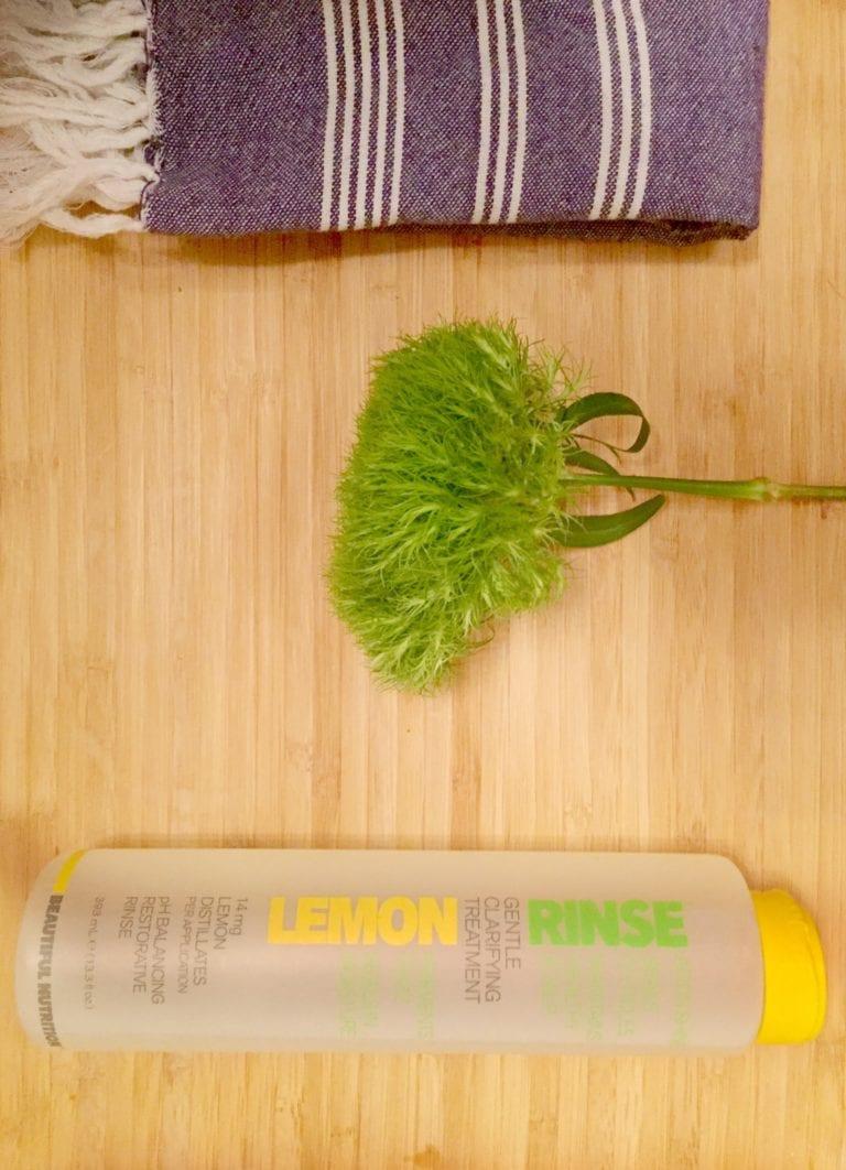 lemon rinse, what the doost 1