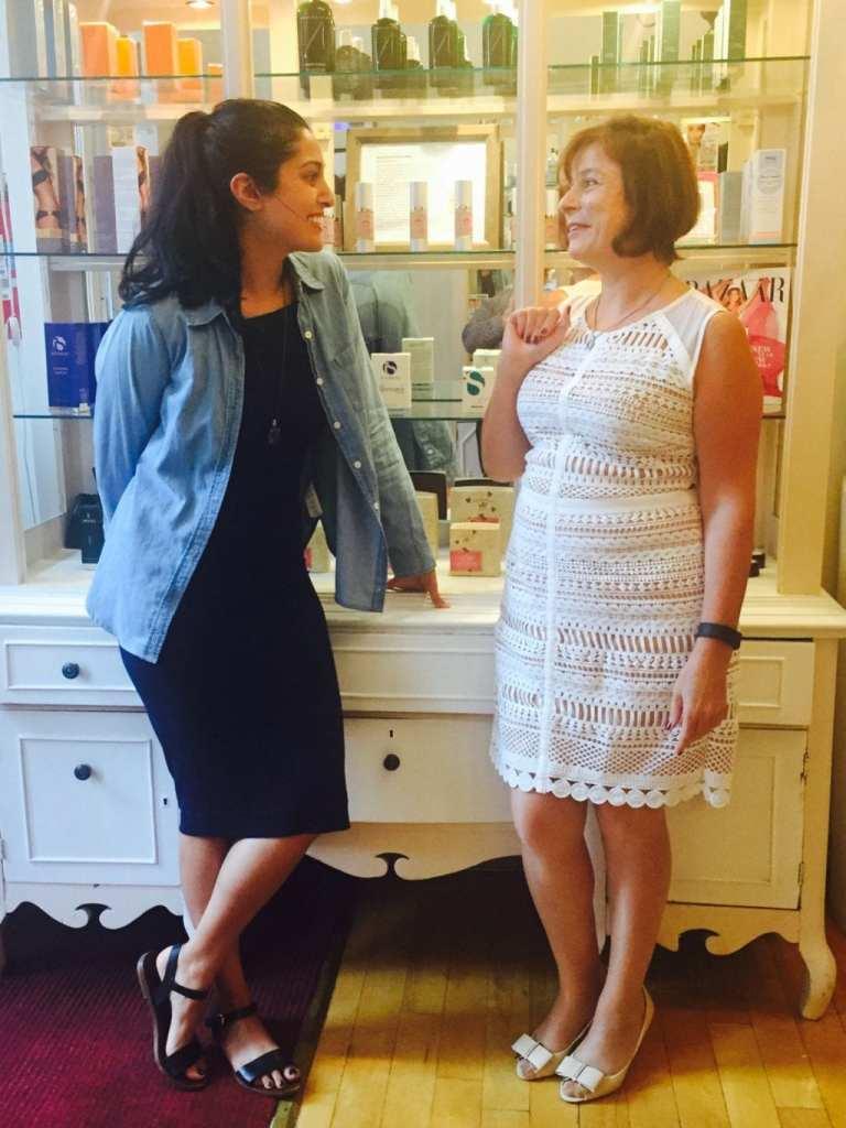 Me (doost) with founder and Nadia Dekhkanova