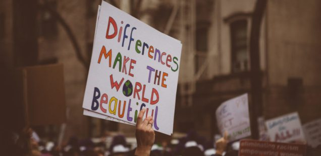 Differences Make the World Beautiful → Women's March in NYC