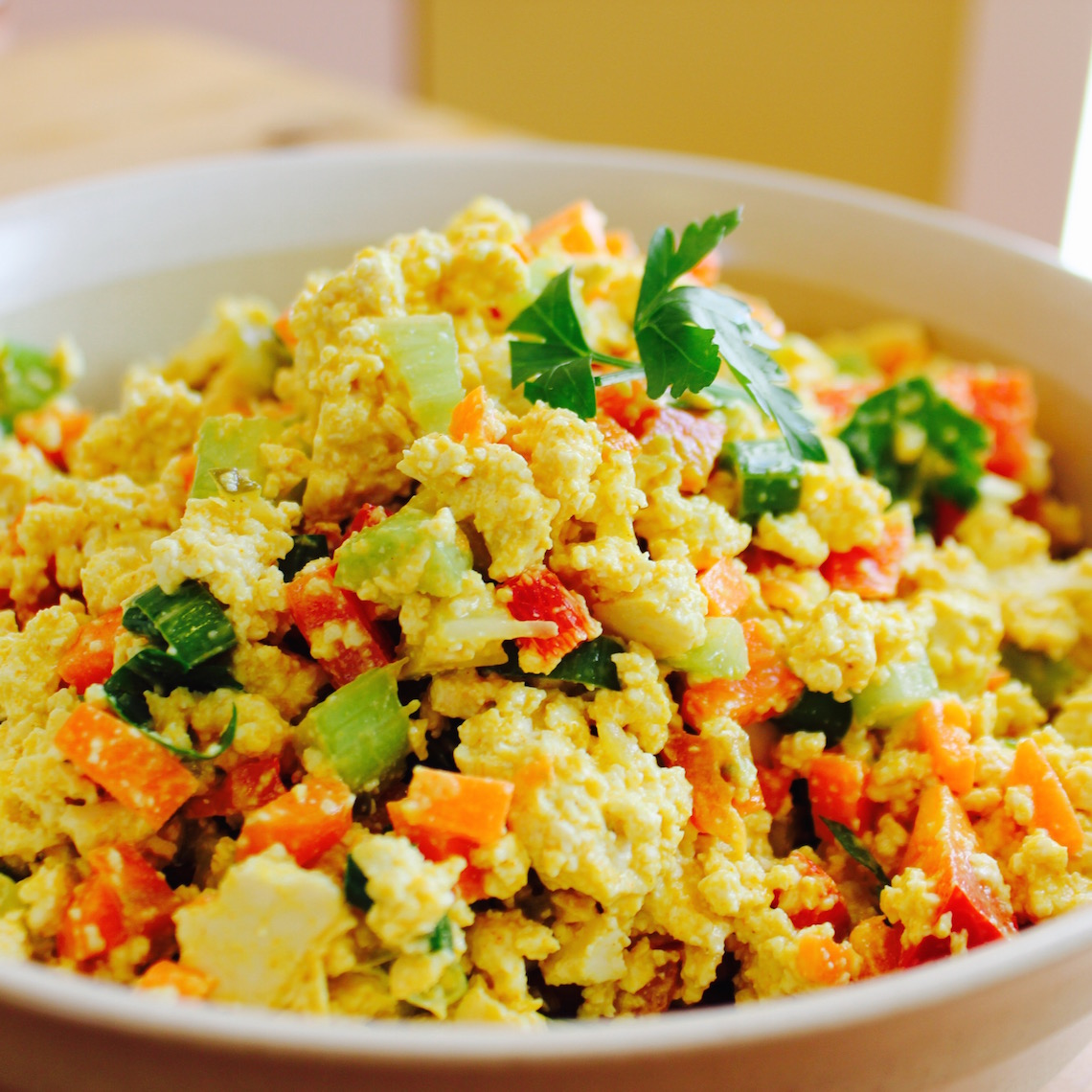 Egg-less Salad Sandwich