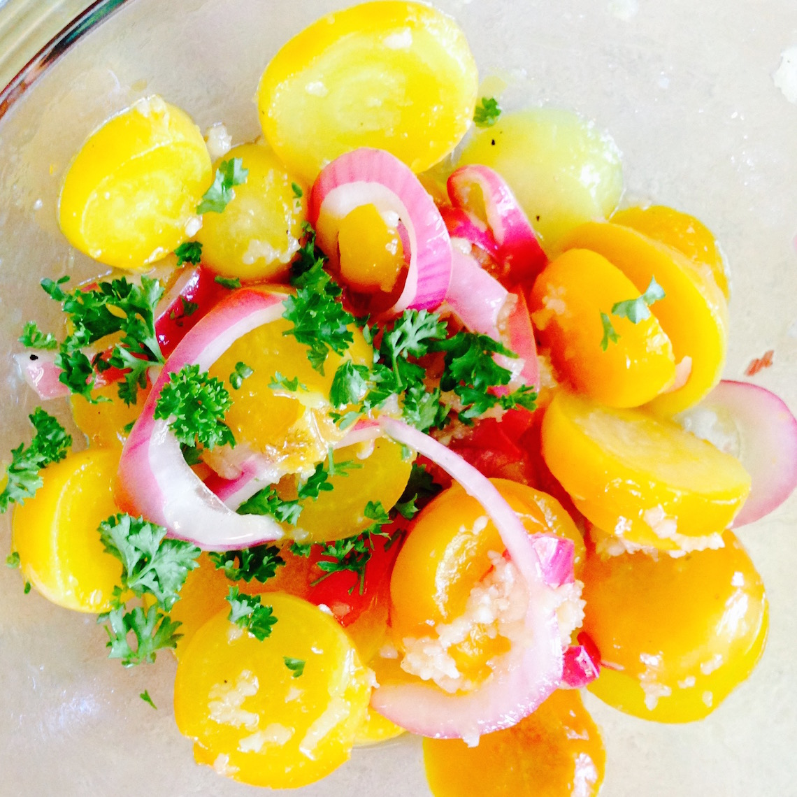 Garlic Golden Beets