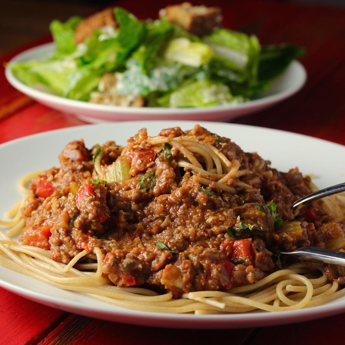 Spaghetti Bolognese10