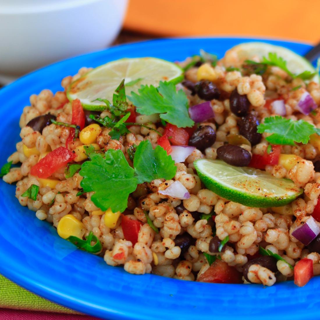 Taco Fiesta Barley Salad6