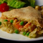 Vegan Seafood Pot Pie