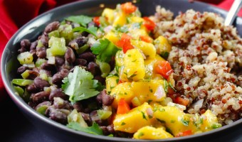 Cuban Black Bean Mango Bowl