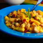 Sweet and Spicy Thai Mango Salad with Cashews
