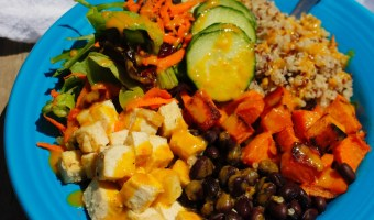 Summertime Sweet Potato and Black Bean Bowl
