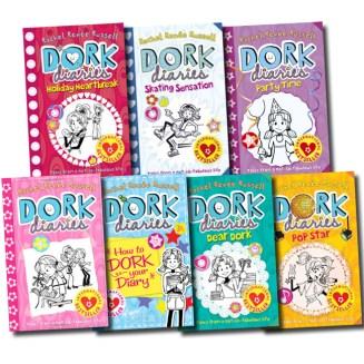 7. Dork Diaries by Rachel Renée Russell