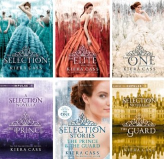 8. The Selection by Kiera Cass