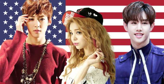 Red, White & Blue: 17 Korean Idols Who Were Born In The USA