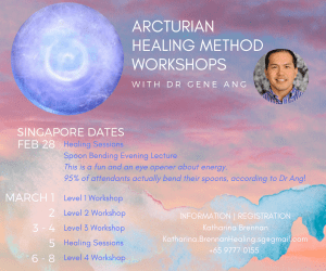 Arcturian Healing Method with Gene Ang Singapore 2019