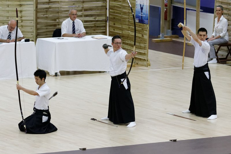 2014 Kyudo World Cup, Paris France
