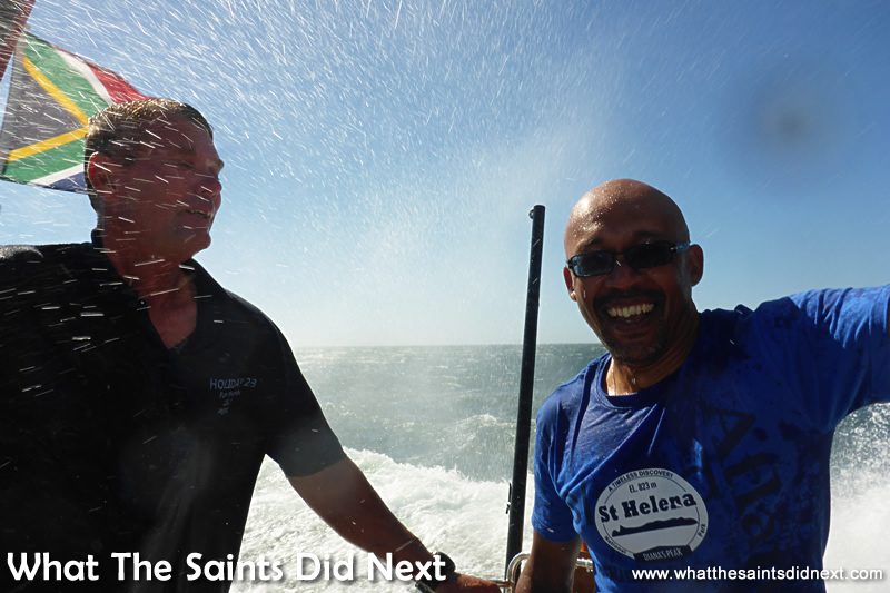 What 18.5 knots looks like!