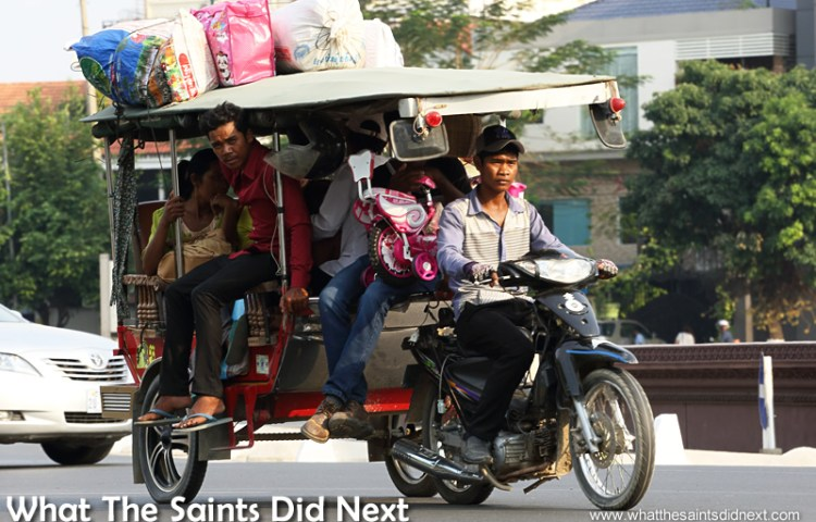 Watching Cambodia Traffic: There's Method In The Madness
