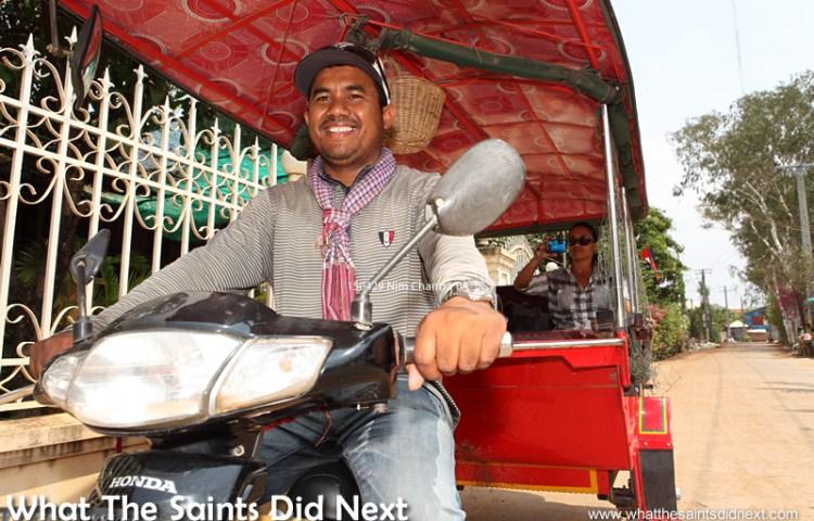 Meet The Teacher and Best Tuk Tuk Driver in Phnom Penh, Cambodia