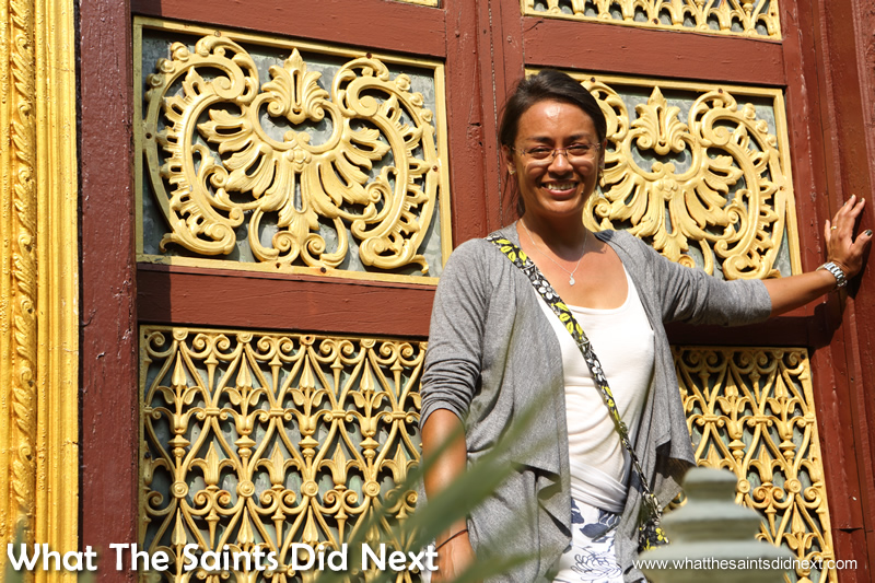 """Can we have this door for our house?"" - the splendour of the palace was incredible."