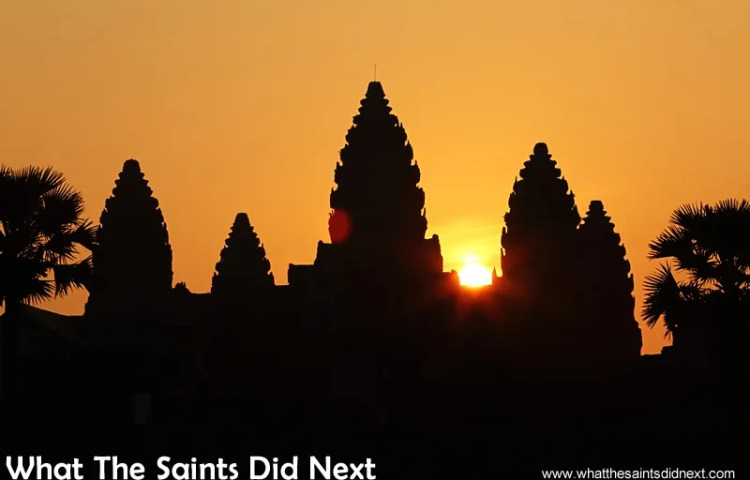 Watching An Angkor Wat Sunrise Is So Worth Getting Out Of Bed For