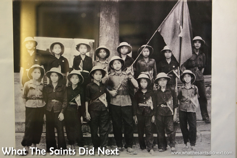 'Dinh Bang child guerrilla team (Bac Ninh) during anti-French resistance' - photo: National History Museum.