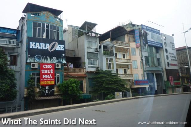Karaoke bars are plentiful in Hanoi.  A Young Vietnamese Opinion On The American War.