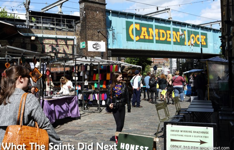 Camden Market Street Food – Where Every Day Is Pancake Day
