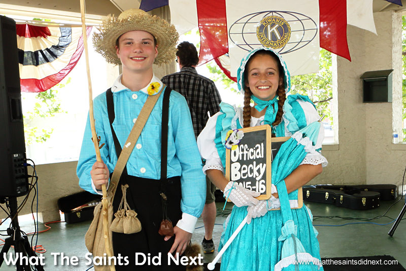 Rhet Reed and Molly have been chosen as the new Tom and Becky ambassadors for Hannibal, Missouri in 2015.