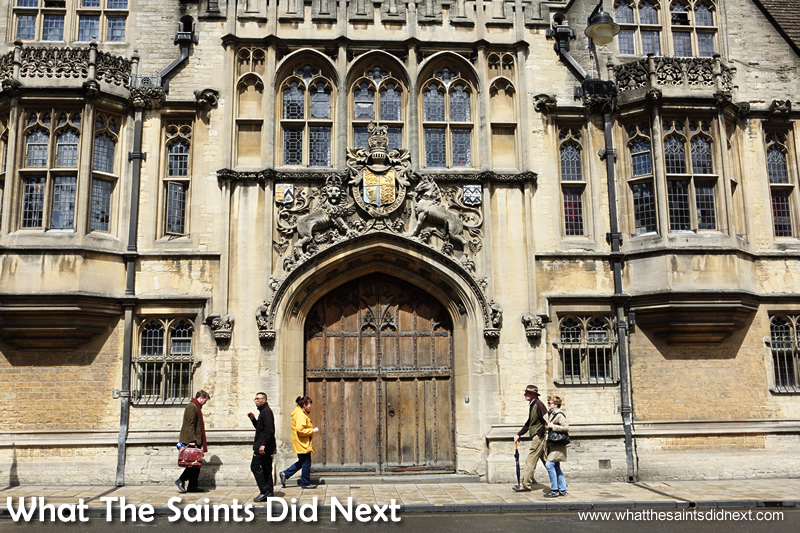 There is spectacular architecture everywhere in Oxford Oxfordshire.