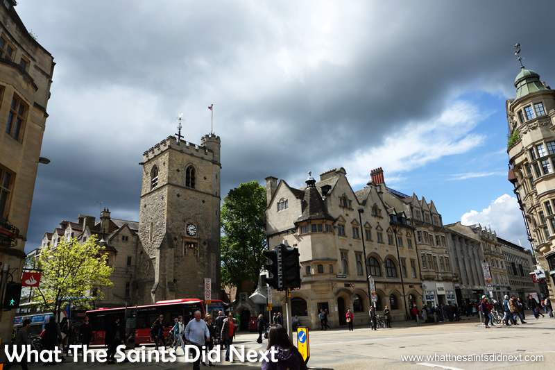 Carfax Tower, Oxford City. The City of Dreaming Spires.