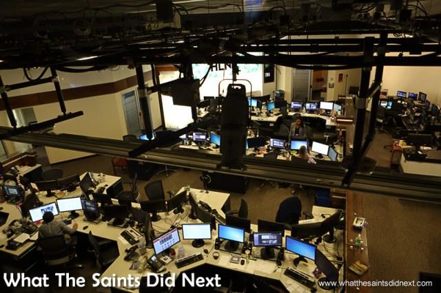 A show production room.  The CNN Center in Atlanta, Georgia.