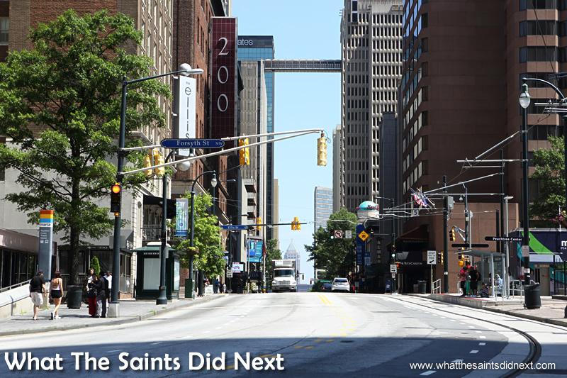 The streets of Atlanta.