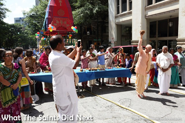 Cultural history from India going back 2,000 years, is enjoying the sunshine of Atlanta.