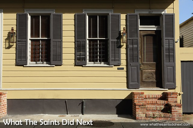 The architecture of the French Quarter is America's finest stand of 19th century architecture; a reflection of the native architectural traditions of those who have occupied it and an adaptation to the hot and humid semi-tropical Louisiana climate.