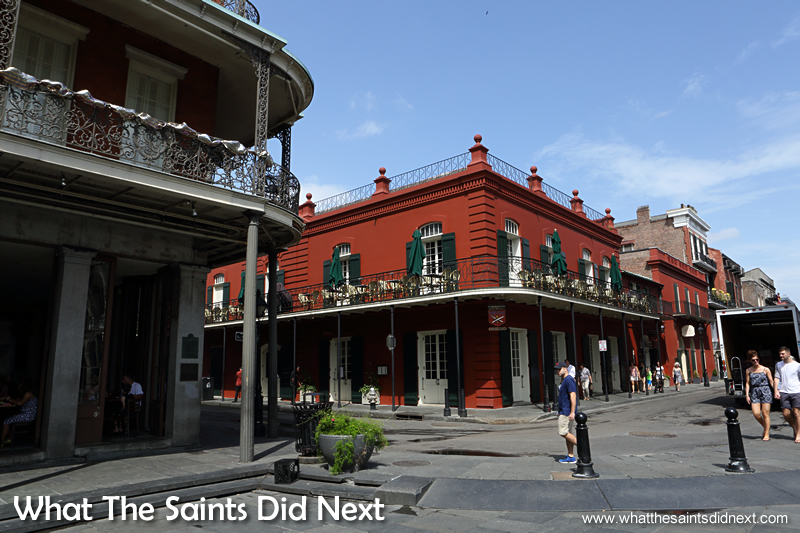 The French Quarter is a 13 x 10 block area bound roughly by Canal Street, Esplanade Avenue., the Mississippi River and Rampart Street. 20 stunning seasons to visit the French Quarter in New Orleans.