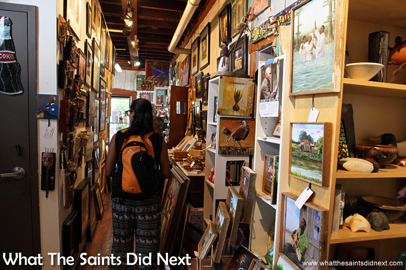 Mississippi artists and other southern painting styles on display.