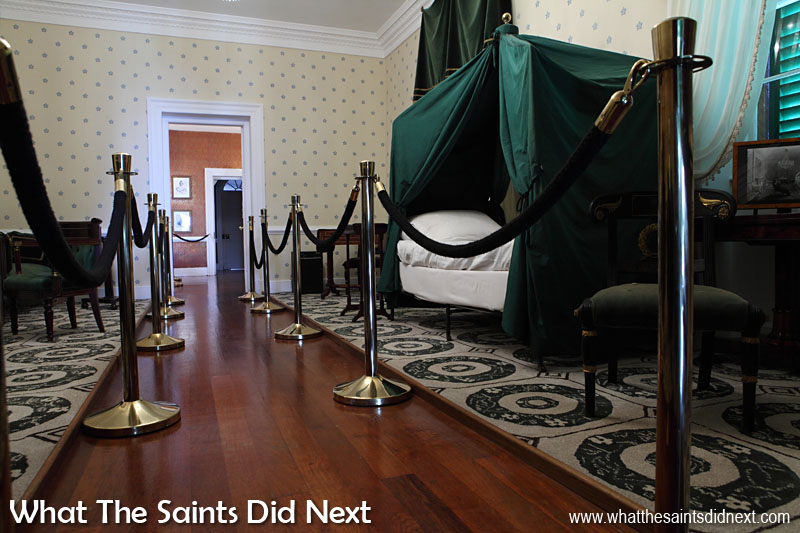 Longwood House museum is the biggest attraction on St Helena, where Napoleon lived his final six years. The interior has been restored to replicate the house exactly as it was the day the emperor died.