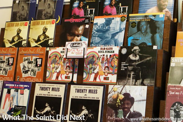 Classic Blues as well as Rock 'n' Roll albums on vinyl are still sold on Beale Street in Memphis, including records from the Stax music label. The Man Who Saw The Last Speech Of Martin Luther King.