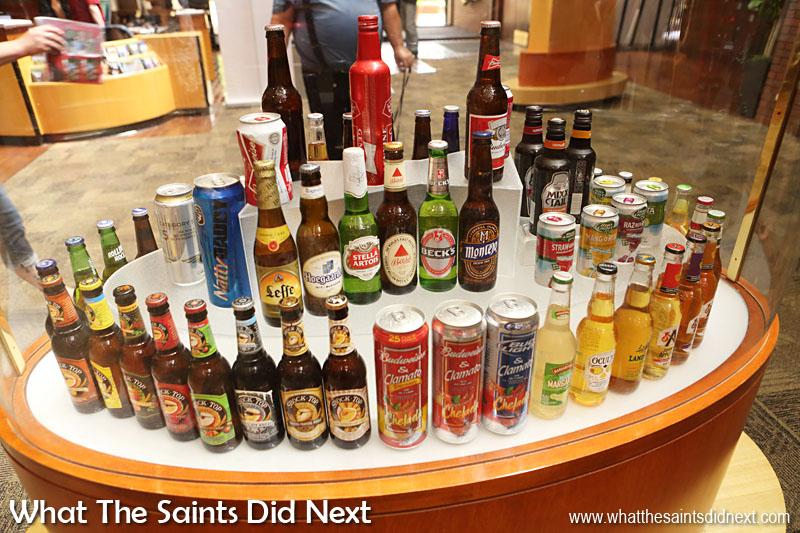 Boddington beer, Becks beer, Michelob, Bass, Goose Island, Johnny Appleseed, Hard Apple Cider, Landshark Lager and Shock Top are a few beer brands under the huge Anheuser Busch brewery umbrella.