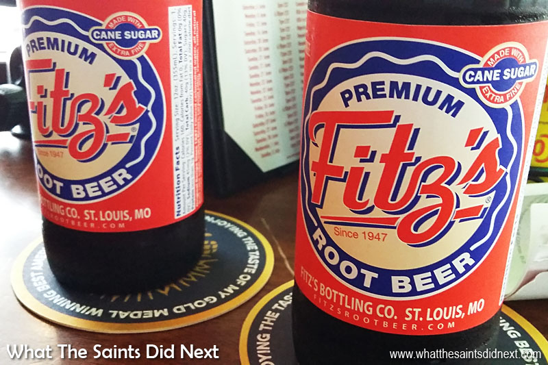 Things to do in St Louis - try Fitz Premium Root Beer made and bottled in St Louis.