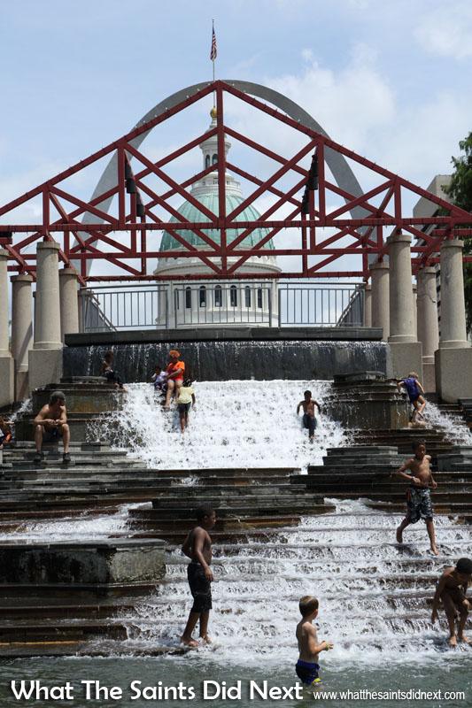 Keiner Plaza, St Louis, Missouri.