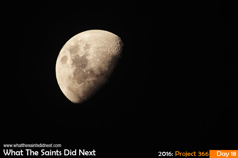 'Peake' 18 Jan 2016, 19:13 - 1/200, f/6.3, ISO-200 What The Saints Did Next - 2016 Project 366